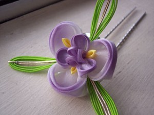 Ayame hair accessories kanzashi 300x225 Lovely Girly Hair Clips: On Request Accessories Design