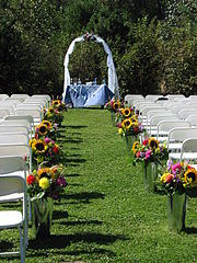 Country wedding aisle Why Running a Business in Creating Unique Wedding Accessories Is Profitable for You