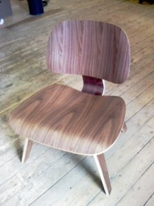 Eames Wood Chair 225x300 Craft Ideas For Adults: Reupholster A Chair